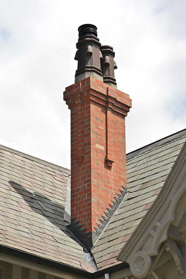 Quakesafe Faux Double Heritage Replica composite chimney