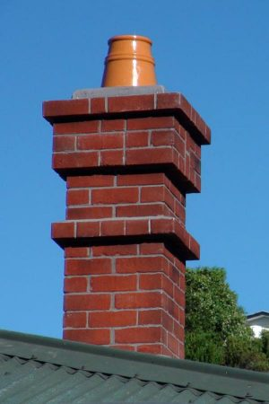 Composite Chimney With Moulded Chimney Pots