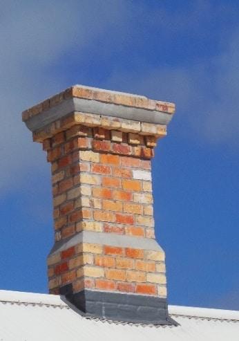 Auckland Villa restoration including a Red Mantle Chimney using original brick