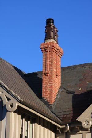 Te Koraha House Heritage chimney repair after Christchurch Earthquake