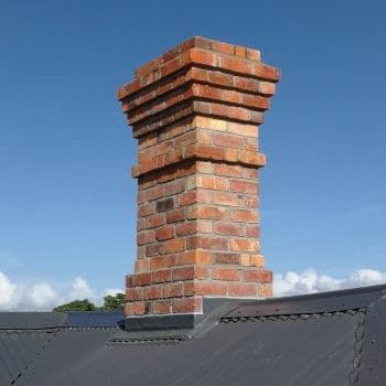 Renovated Auckland chimney. Lightweight and safe